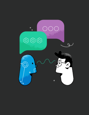 enriching interactions with chatbots and NLP services illustration